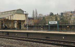 photo of Bath Spa train station
