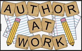 Author at Work sign