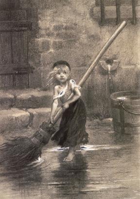 Illustration from Victor Hugo's Les Miserables